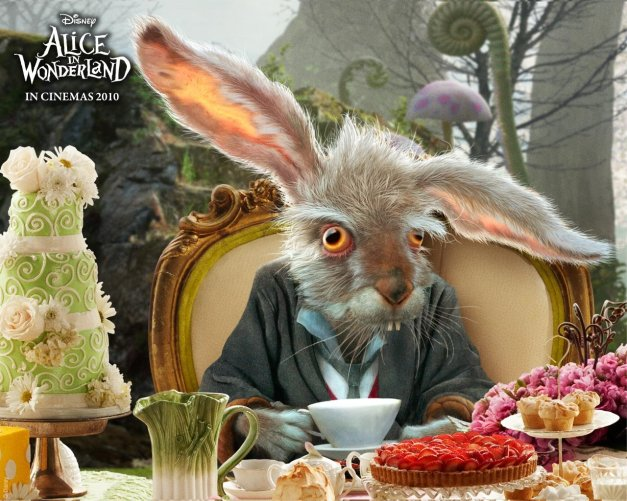 From the blockbuster; Alice in Wonderland (2010)
