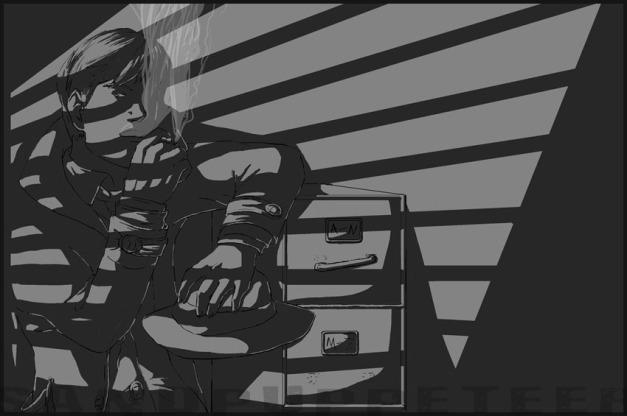 Dick Aka Detective Noir by Sandpuppeteer