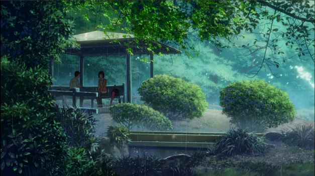 From the Anime Film 'Garden of Words'