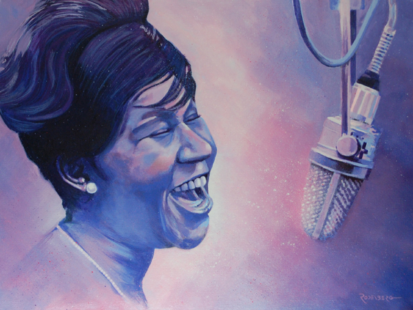 Aretha Franklin by Rodenberg