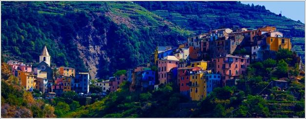 Corniglia Northern Italy.