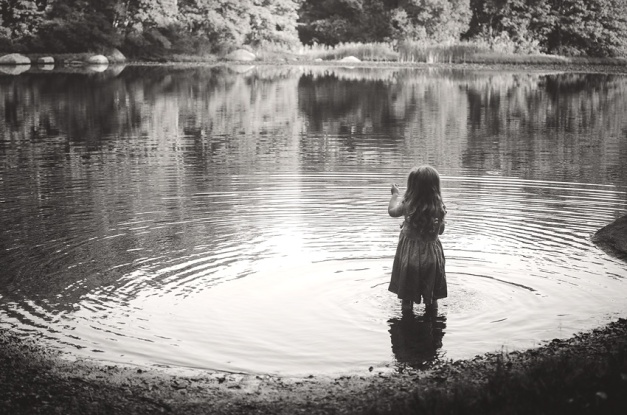 girl-in-a-pond