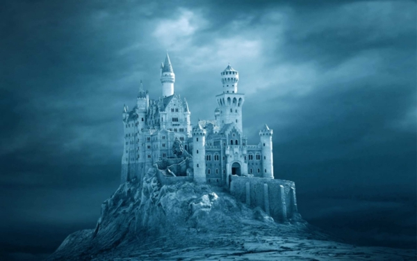 castles fantasy art neuschwanstein castle_wallpaperswa.com_16