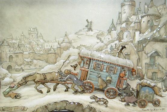 Art by Anton Pieck
