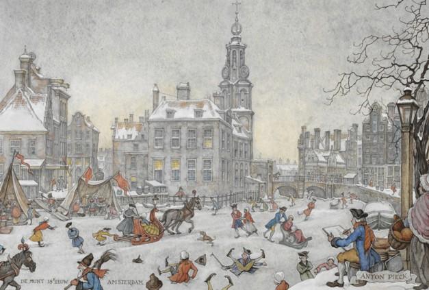 De Munt by Anton Pieck